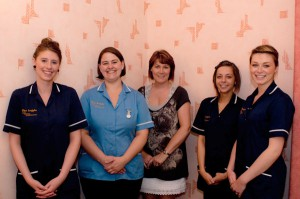The caring staff at Argyle Residential Care Home